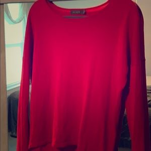Light weight red sweater